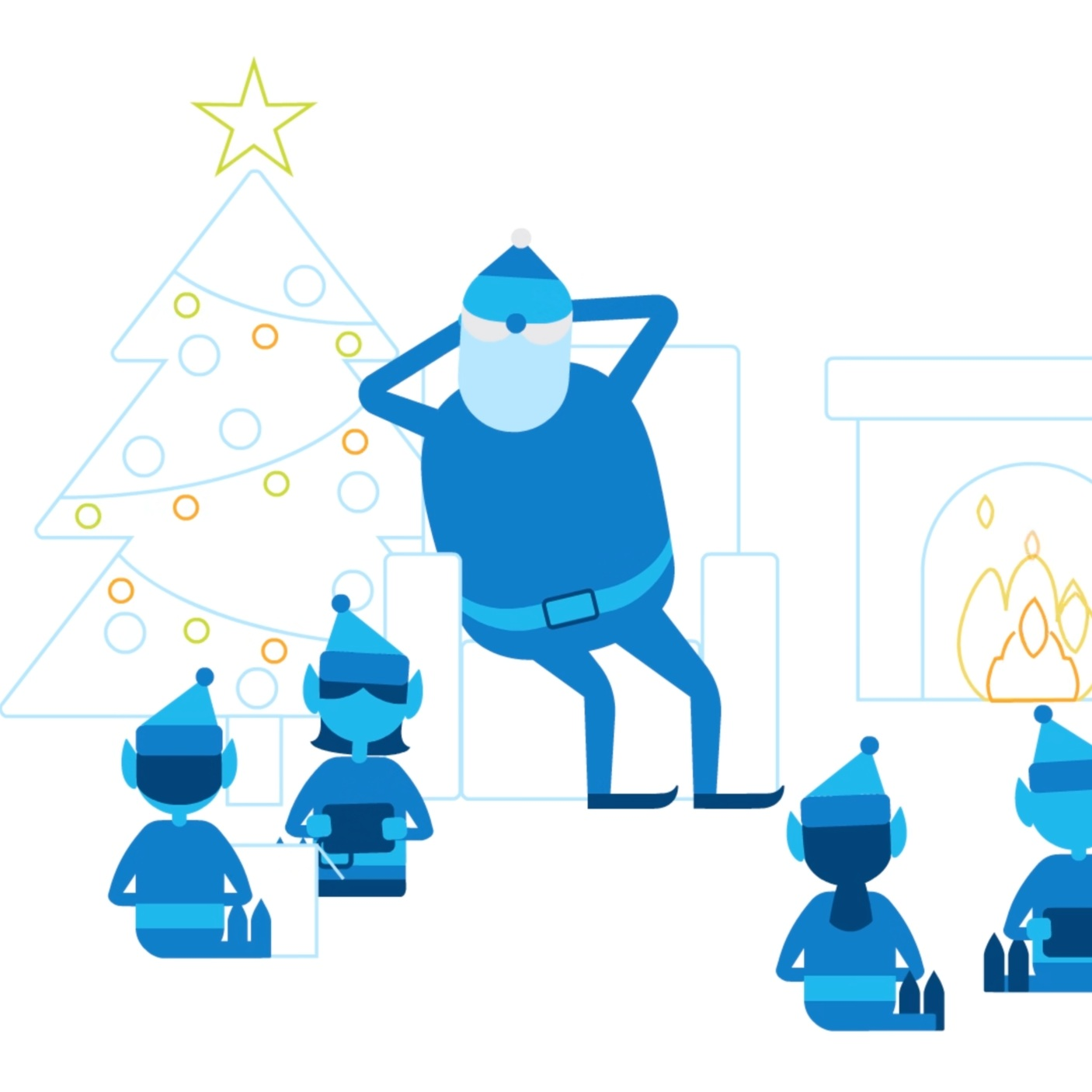 Intel Christmas explainer thumbnail Kong Animation Studio