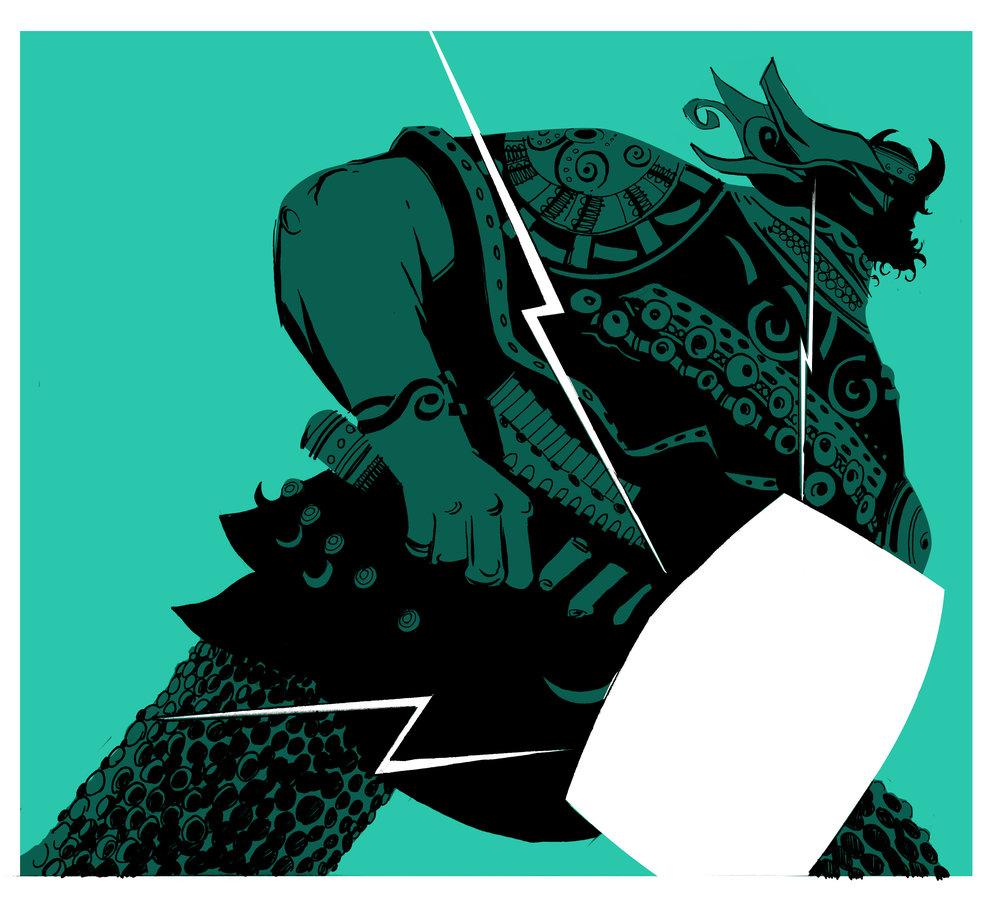Penguin Classic The Norsemen viking thumbnail Kong Studio